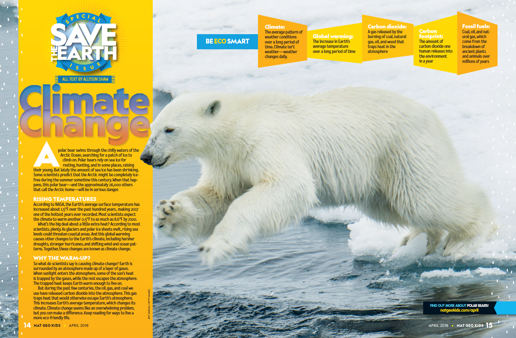 Just for Kids: What's Climate Change? And What Can I Do