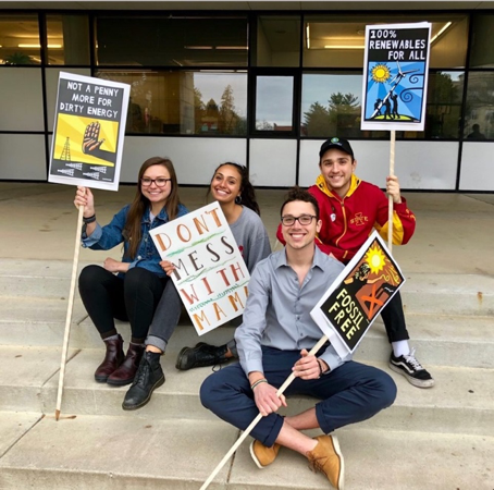 Group photo of advocates